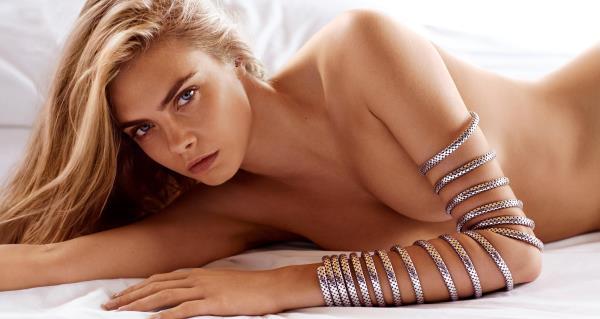 Nude Cara Delevingne Picture
