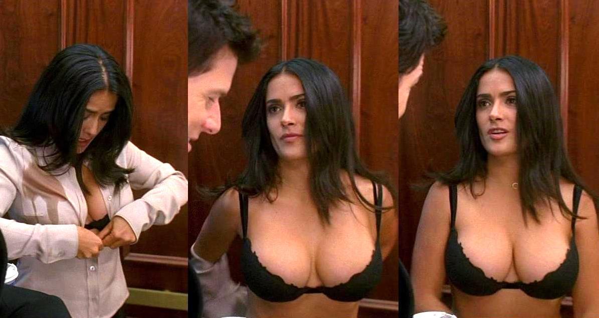 Salma Hayek Breasts