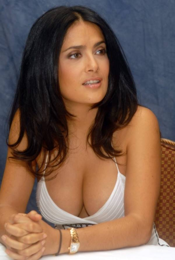 Salma Hayeks Big Boobs