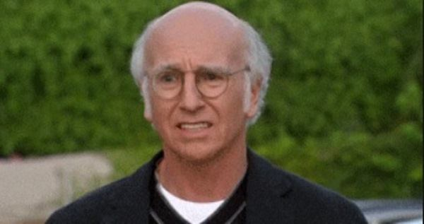 Larry David Reaction Gif